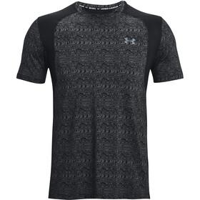 Under Armour Iso-Chill Run Printed Short Sleeve Shirt Men black